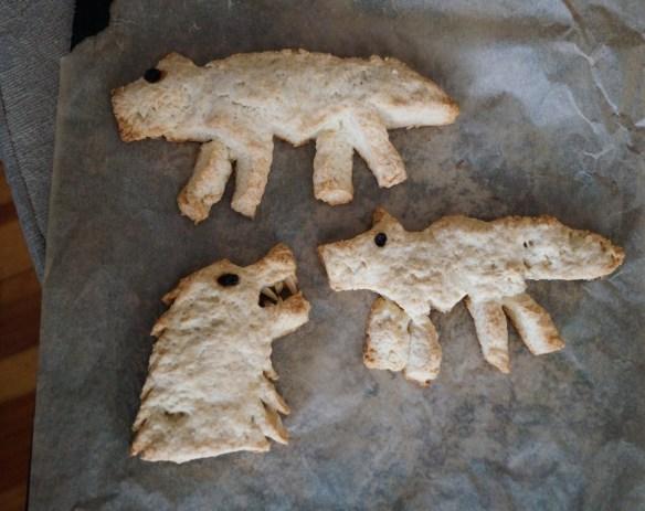 Hot Pie Wolf Bread recipe Direwolf Scones Imgur