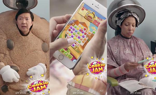 Snapchat начал рекламировать установки приложений