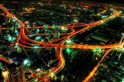 metropolis of Bangkok - Thailand capital