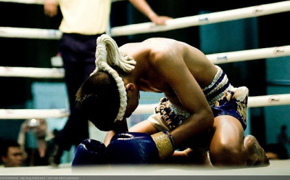 Thai Boxing - Prayer before the Meeting