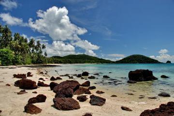 holidays koh mak - beach view