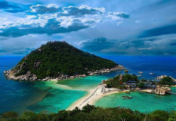 the island of diving in Thailand