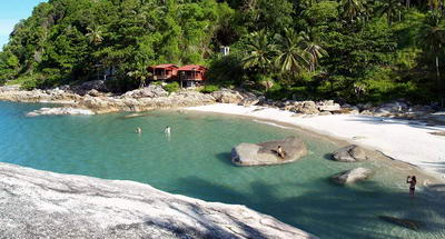 Bay of Koh Pha Ngan - Thailand's beaches