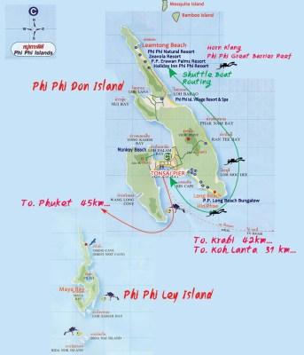 Scegli il tuo hotel e personalizza il tuo viaggio a Phi Phi Island con il Tour Operator InnViaggi.