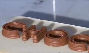 A fantástica impressora de chocolate