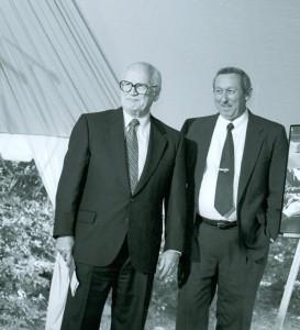 Buzz Price with Roy Disney