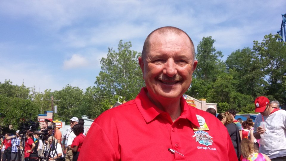 Six Flags Saint Louis park president, Dave Roemer