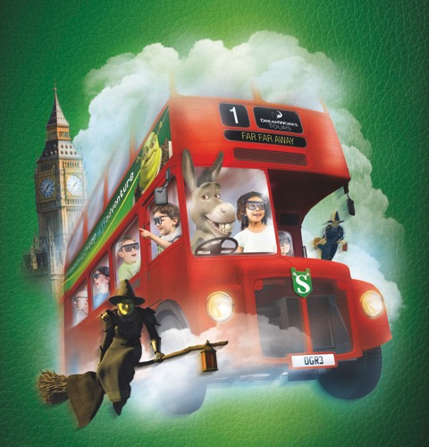 4D London Bus Ride, Shreks Adventure London