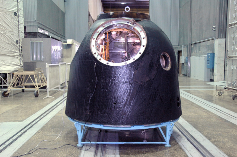 Soyuz spacecraft prepped for transport to London