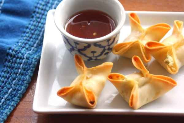 Baked Crab Rangoon // Inquiring Chef
