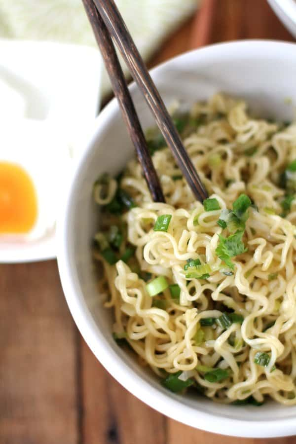 Ginger Scallion Noodles 2