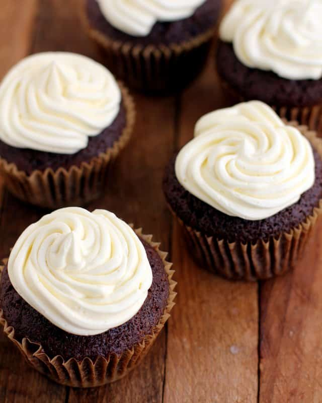 Guinness Stout Chocolate Cupcakes