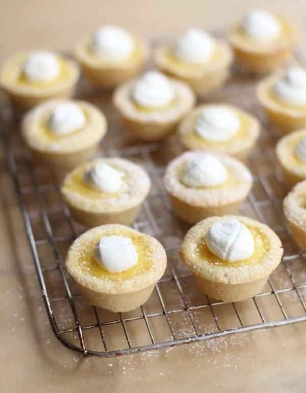 Sugar Cookie Lemon Tarts_