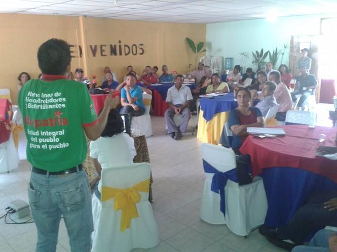 Foto 2 Congreso campesino en Monagas