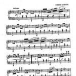 Mazurka sheet music
