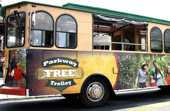 Free Gatlinburg Trolley