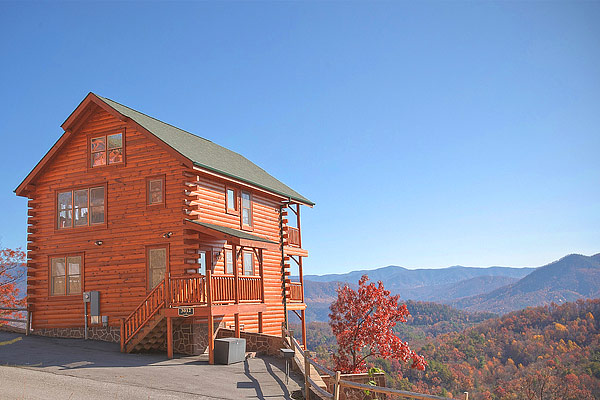 Cabin in gatlinburg with gorgeous view