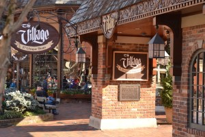 The Village Shops in Gatlinburg.