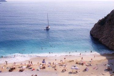 The fabulous clear water of Kaputas beach