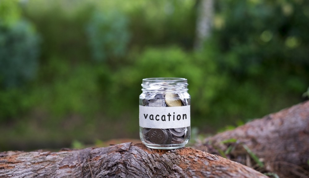 Savings jar for a Pigeon Forge vacation