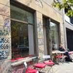 Berlin Cafe - graffiti - Marketta