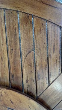 Wood Grain | Distressed Streak | Inside Design