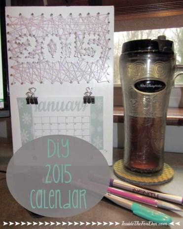 DIY 2015 Calendar