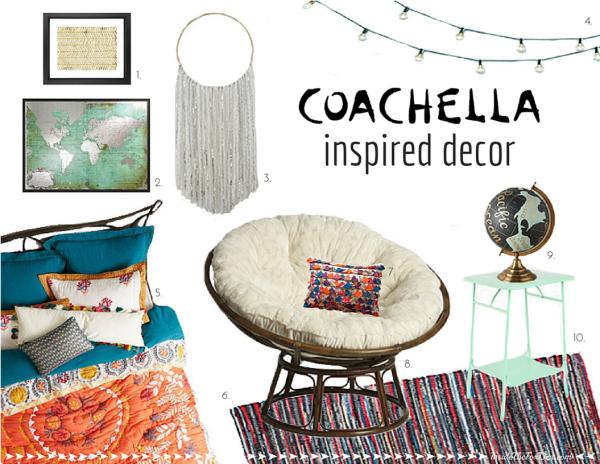 Coachella Inspired Decor | Inside the Fox Den