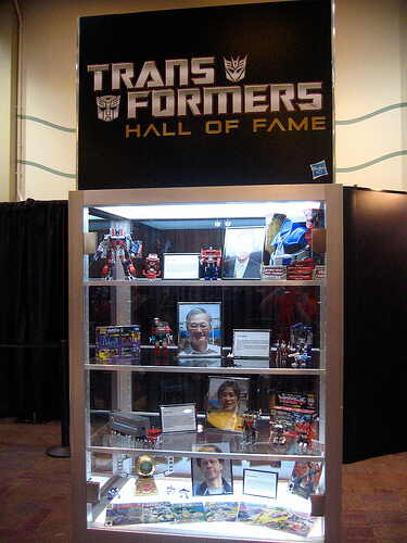 Transformers Hall of Fame inductees