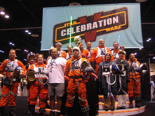Rebel Pilots unite for Celebration V