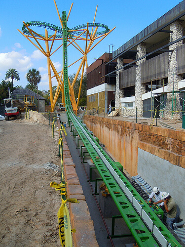 Cheetah Hunt construction