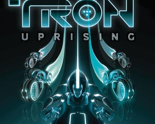 WALT DISNEY RECORDS TRON: UPRISING DIGITAL COVER
