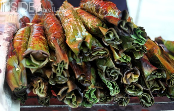 Banana leaf wraps