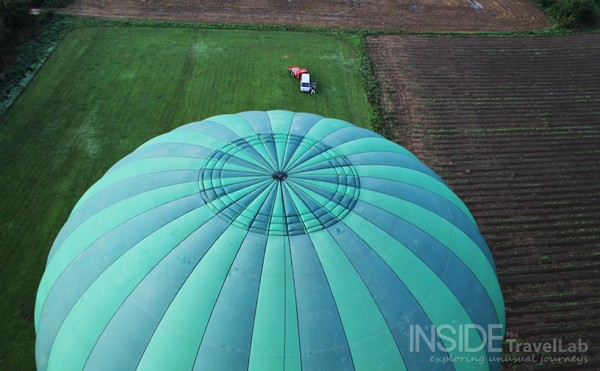Hot Air Balloon on Ground