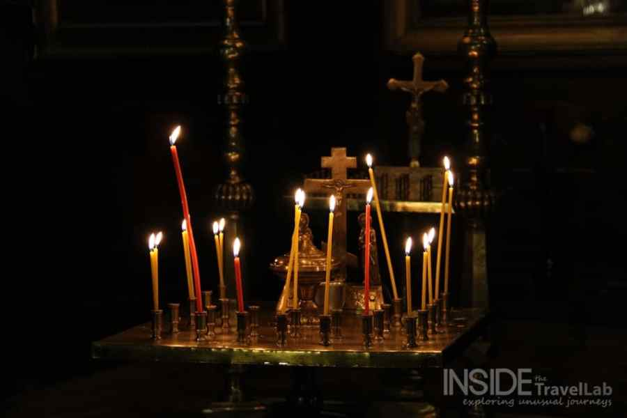 Photos of Sofia - inside Russian church