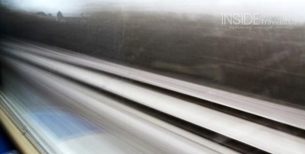 Train tracks near Trieste