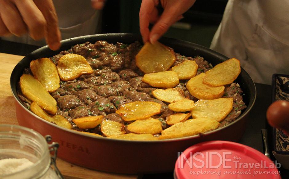 Making Siniyet Kafta - Jordanian Food