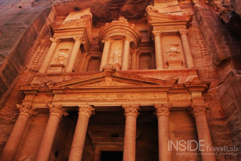 The Treasury at Petra, Jordan