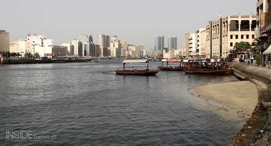 Dhows in Batakia District, Dubai