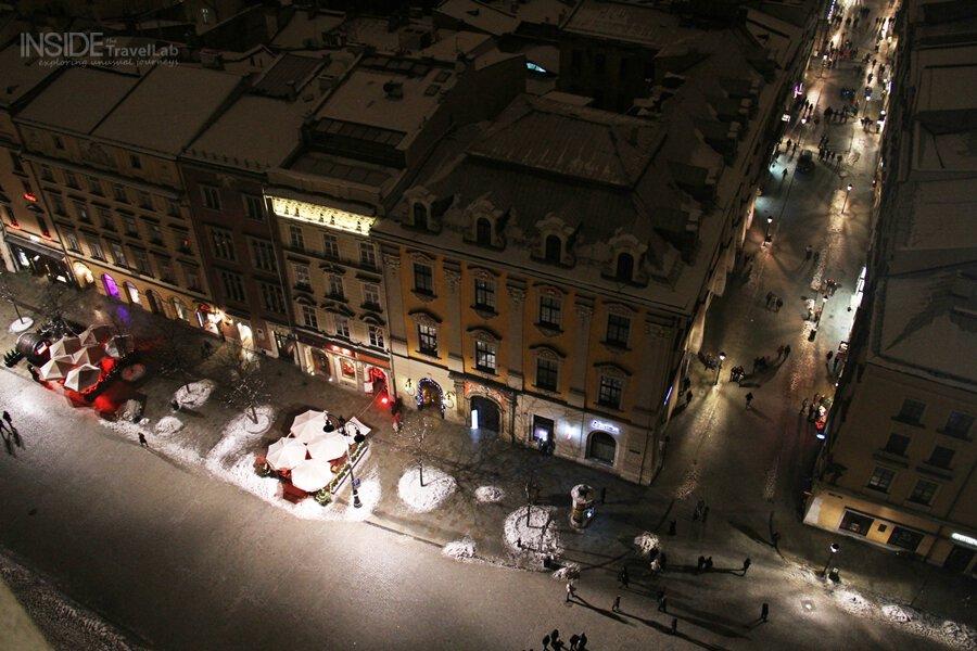 Jazz Bars from above in Krakow