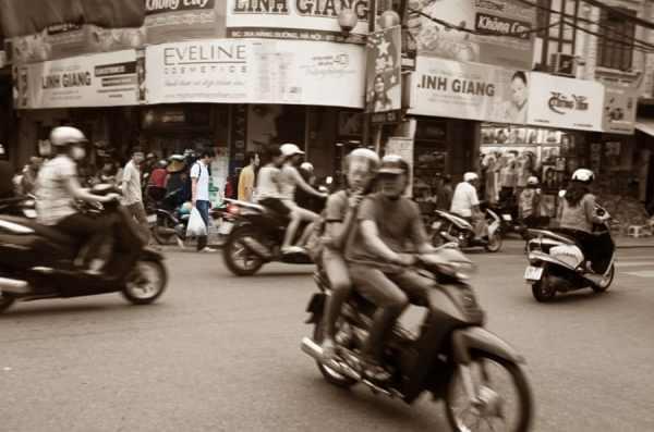 Culture Shock in Hanoi