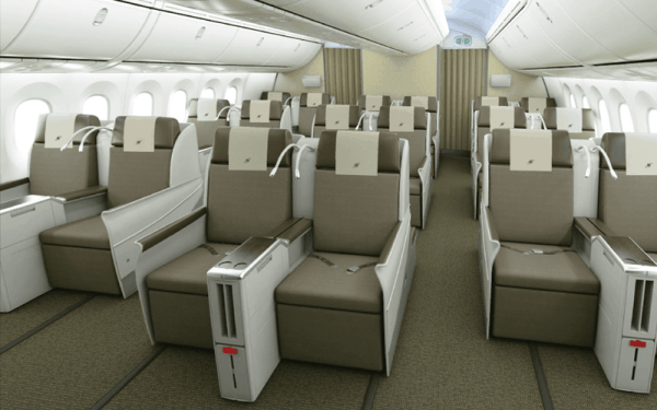 Royal Brunei Business Class on the Dreamliner 787