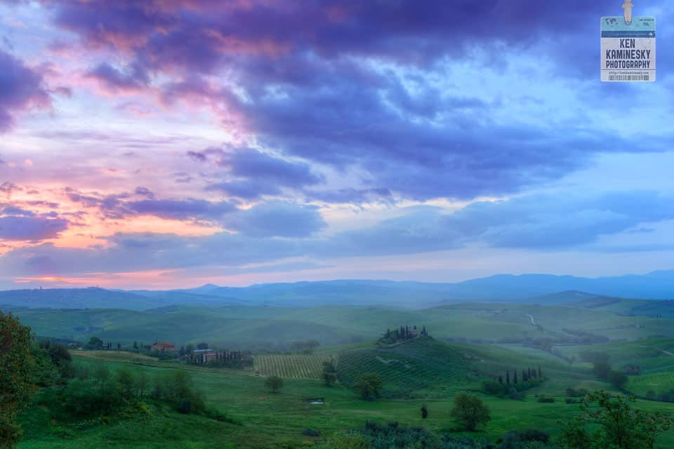 Tuscany Landscape - Ken Kaminesky