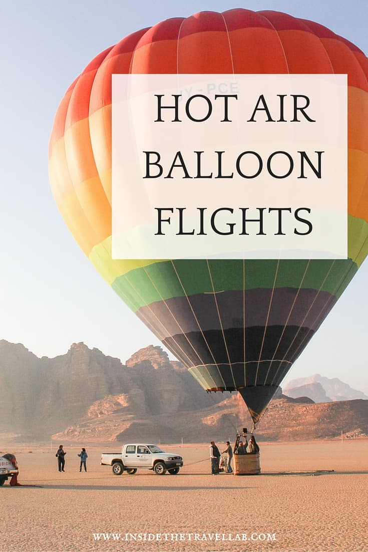 Hot Air Balloon Flights in Spain and Jordan via @insidetravellab