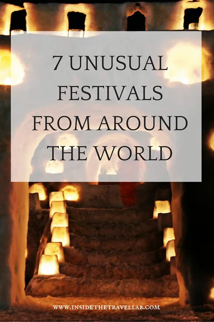 If you're looking for festivals that are a little unusual and beyond the traditional offering, take a look at my suggested list. They've all been visited and enjoyed by me, and you'll remember every second you visit these fantastic celebrations. - via @insidetravellab