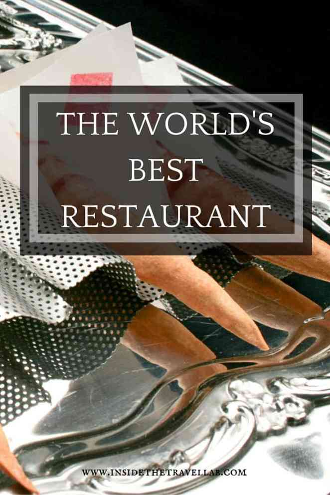Tasting food at the world's best restaurant in Spain
