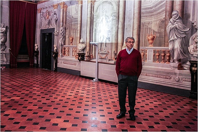 Inside the Villa di Corliano