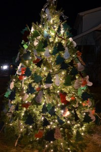 The 2013 Tree of Lights brightens the night and the lives of local homeless pets.