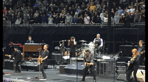 Mike Watterston's view of Bruce Springsteen and the E Street Band at their Jan. 31 show.