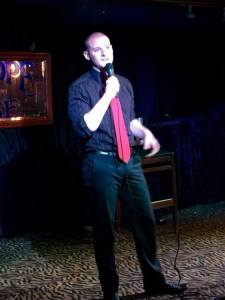 Local comedian Sean Gaffney will also be featured.